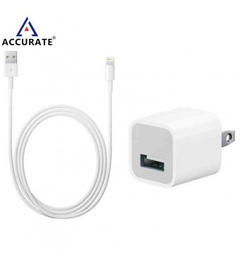 Accurate USB Power Charger For IPhone And Apple Products AC-01